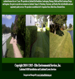 Lakeland FL Lawn Care Internet Advertising Services